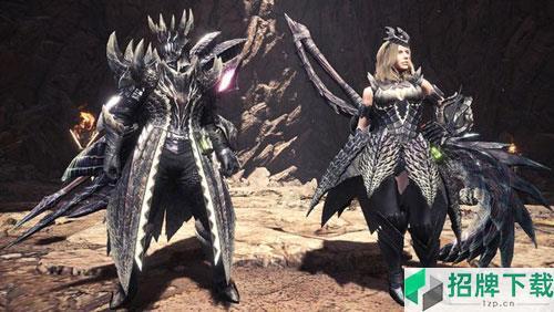怪物猎人世界冰原煌黑龙装